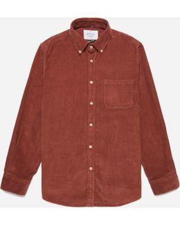 Cord Button Down Shirt