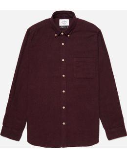 Flannel Button Down Shirt