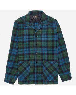 Checked Camp Collar Shirt Jacket