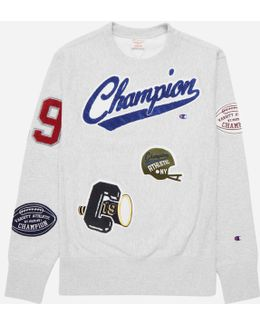 Applique Crew Sweat