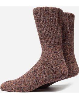 Mock Rib Socks