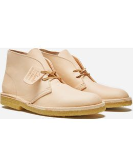 Desert Boot Natural Tan Leather