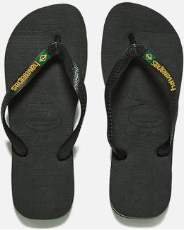 Brasil Logo Flip Flops