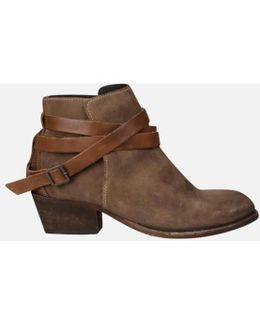 H Shoes By Hudson Women's Horrigan Suede Ankle Boots