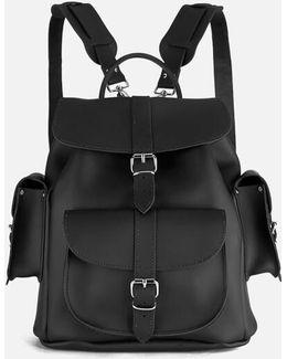 Show Business Medium Leather Rucksack