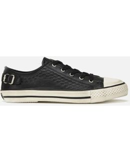 Virgo Leather Low Top Trainers