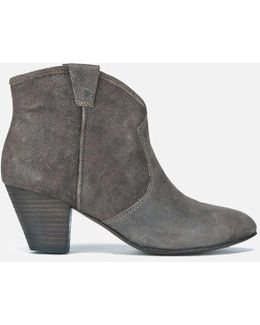 Women's Jalouse Softy Heeled Ankle Boots