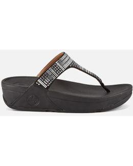 Women's Aztek Chada Suede Toe Post Sandals