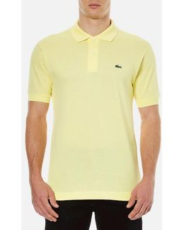 Men's Short Sleeve Pique Polo Shirt