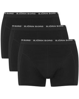 3 Pack Trunk Boxer Shorts