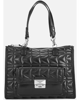 Women's K/kuilted Tote Bag