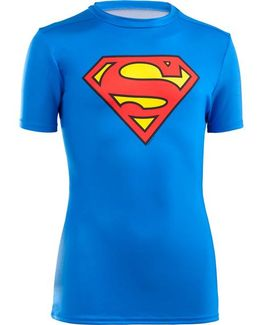 Boy's Transform Yourself Superman Baselayer