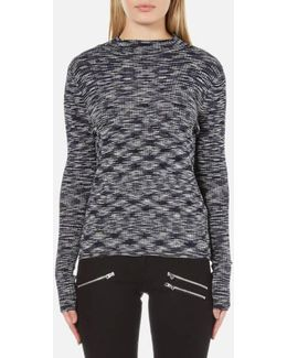 Adinah Long Sleeve Funnel Neck Top