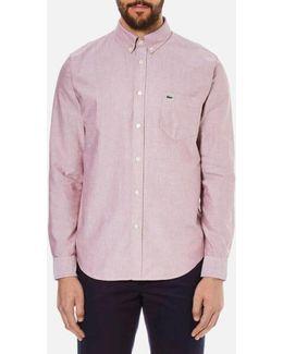 Oxford Button Down Pocket Shirt