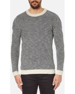 Hoxton Crew Neck Knitted Jumper