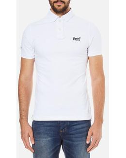 Classic Pique Short Sleeve Polo Shirt