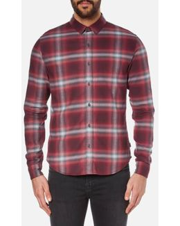 Men's Wechelon Check Shirt