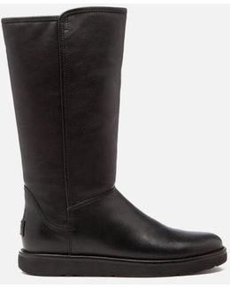 Abree Ii Leather Classic Luxe Sheepskin Boots