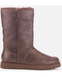 Michelle Leather Classic Slim Sheepskin Boots