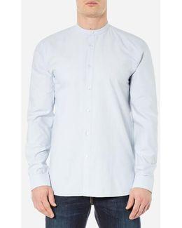Men's Edoug Grandad Collar Shirt