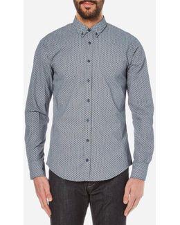 Men's Epidoe Patterned Long Sleeve Shirt