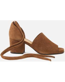 Women's Metta Suede Heeled Sandals