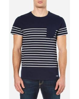 Placed Breton Stripe T-shirt