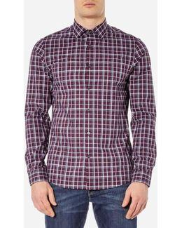 Men's Slim Caden Plaid Shirt