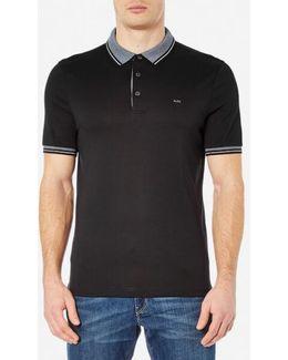 Men's Greenwich Collar Polo Shirt