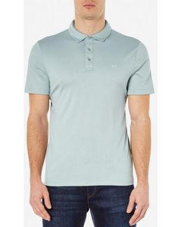 Men's Tipped Birdseye Polo Shirt