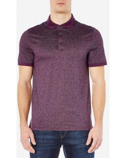 Men's Jacquard Polo Shirt