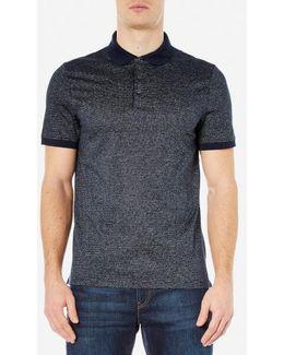 Men's Jacquard Polo Shirt