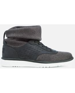 Islay Treadlite Knit Slouchy Collar Hi-top Trainers