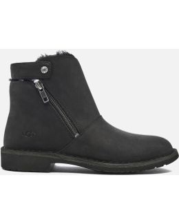 Kayel Leather Ankle Boots