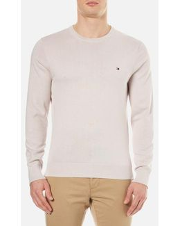 Prime Cotton Crew Neck Knitted Jumper