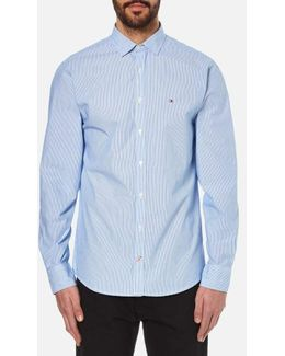 Beach Long Sleeve Poplin Shirt