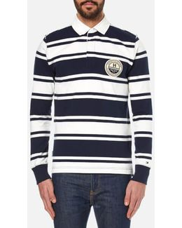 Niek Striped Rugby Top