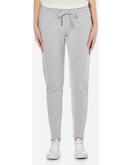 Molly Double Knit Fleece Tapered Leg Joggers