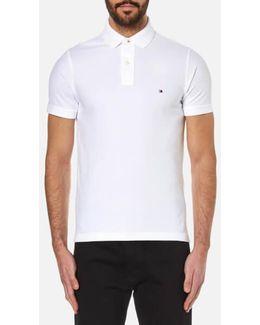 Slim Fit Small Logo Polo Shirt