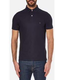 Slim Fit Small Logo Polo Shirt