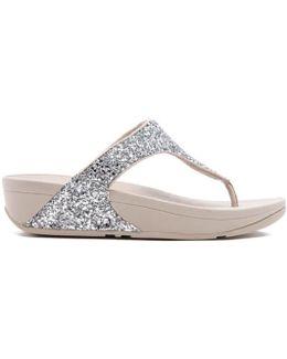 Women's Glitterball Toe-post Sandals