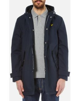 Zip Front Hooded Mac