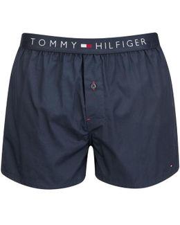 Icon Cotton Woven Boxer Shorts