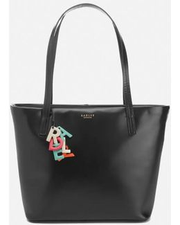 De Beauvoir Large Ziptop Tote Bag