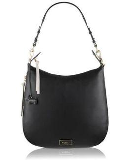 Pudding Lane Large Zip Top Hobo Bag