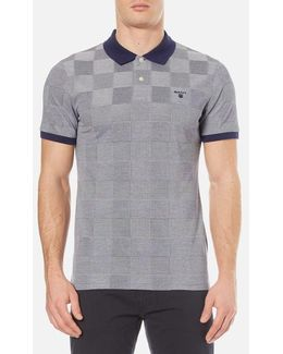 Oxford Square Pique Rugger Polo Shirt