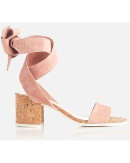 Jonee Suede Block Heel Sandals