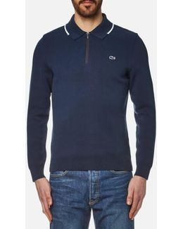 Men's Zip Detail Sweater