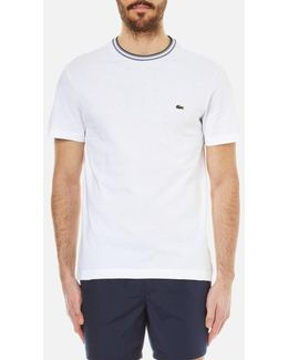 Men's Contrast Collar Tshirt