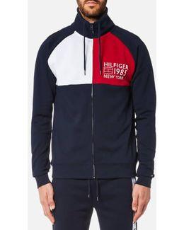 Zipped Track Jacket